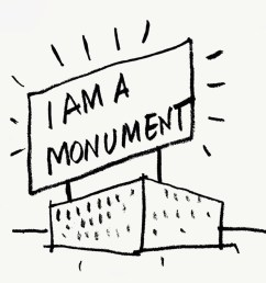 robert venturi and denise scott brown i am a monument 1972 ink on [ 1080 x 916 Pixel ]