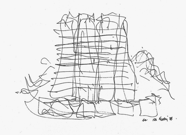 So that's what a Frank Gehry building looks like on day