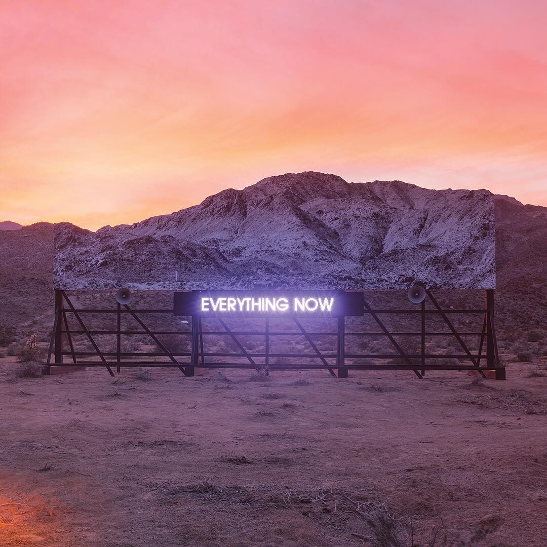 Image result for Arcade Fire - Everything Now cover