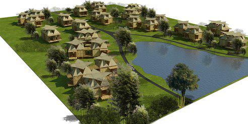 vietnam's flood-proof bamboo houses
