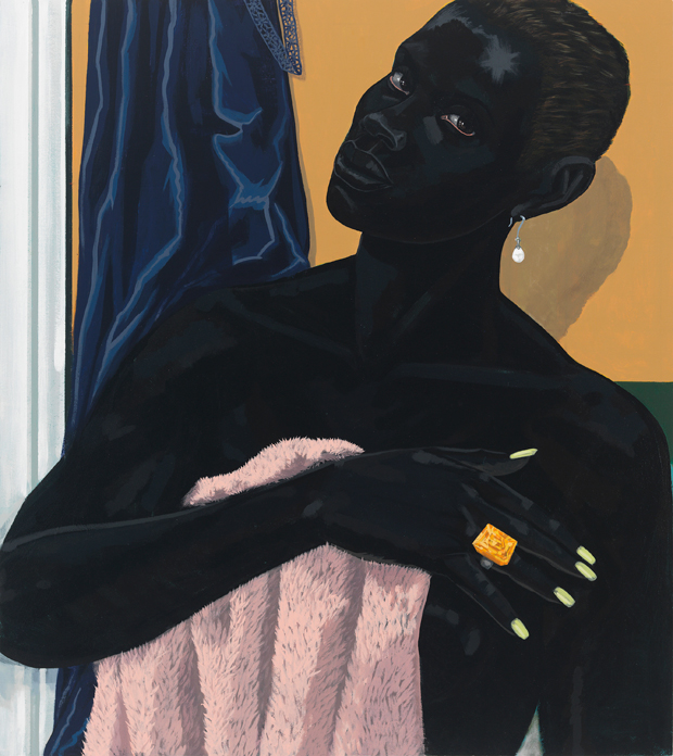 Untitled (Pink Towel) ,2014 - Kerry James Marshall