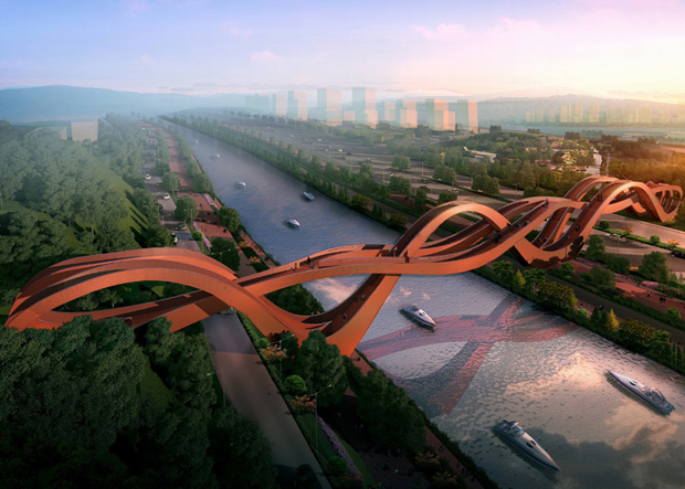 NEXT Architects' Chinese bridge
