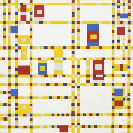 Piet Mondrian - Broadway Boogie Woogie 1942