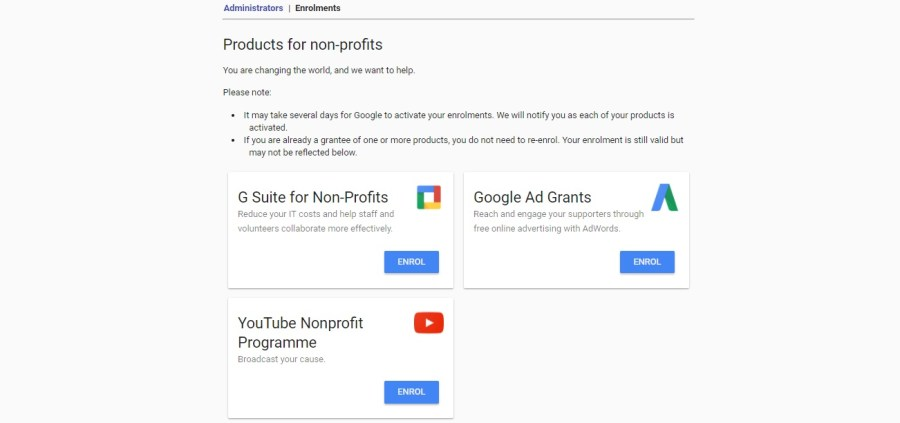 Google for Nonprofits South Africa