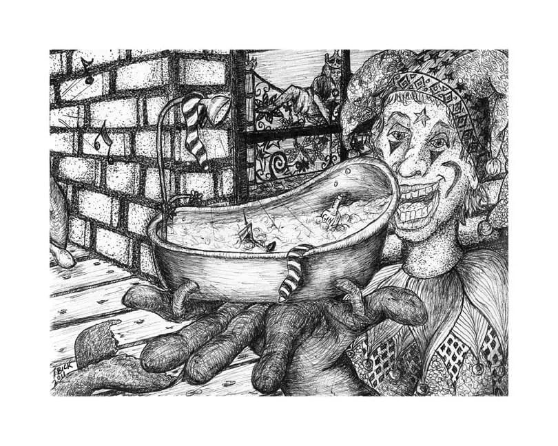 tammy bick's phish drawings – superball ix, bathtub gin and more