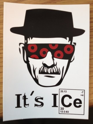 It's Ice Sticker 1-1