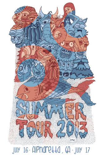 Summer Tour 2013 dates