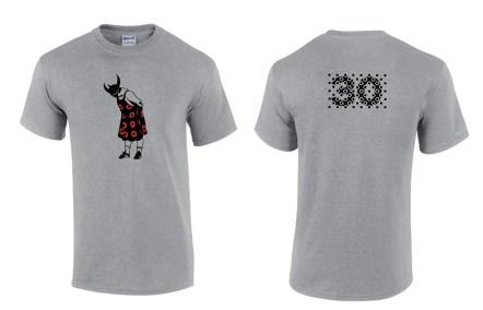 Humble Viking - T-Shirt - Sport Grey