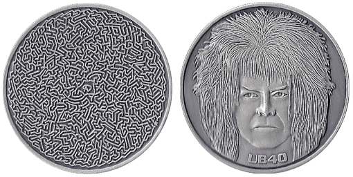 10th Anniversary Maze/Bowie Coin From Adam Davidoff