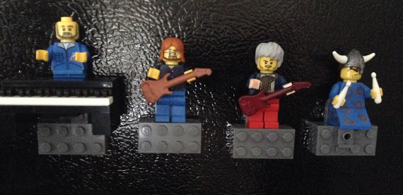 Grateful Dead and Phish Legos Sets from GratePHulCreations