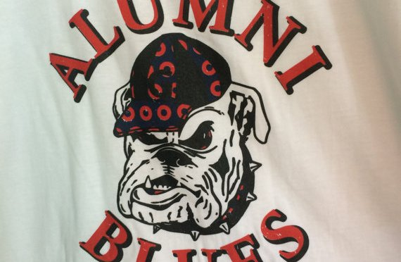 Alumni Blues Shirts From Tiddy Tees
