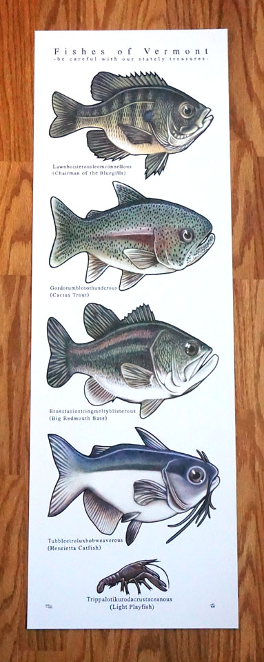 2015 Fishes of Vermont