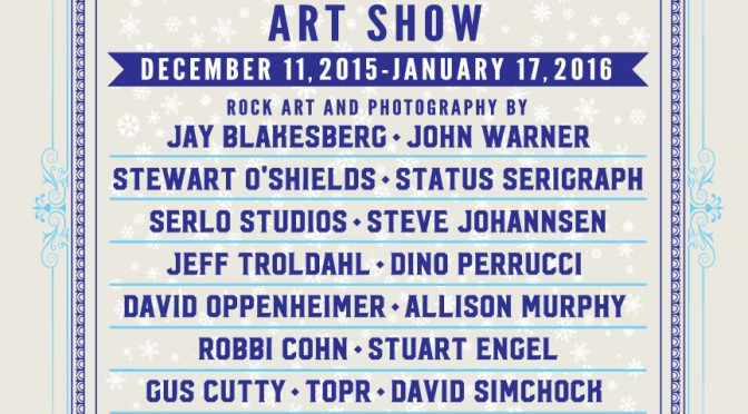 Christmas Jam Art Show at The Satellite Gallery, December 11 – January 17