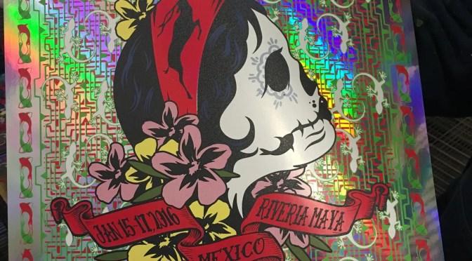 Prints Caspian Mexican Foil