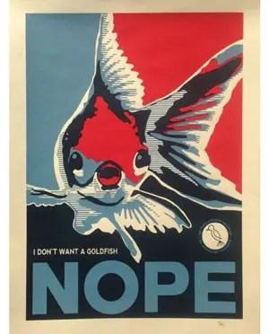 NOPE! Brian Bojo Prints for The Mockingbird Foundation