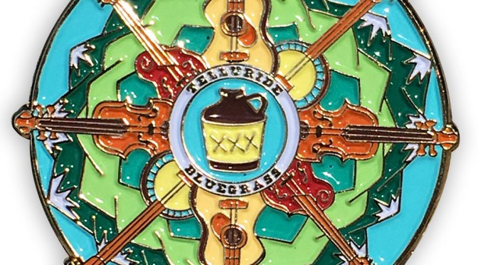 Telluride Bluegrass Pin from Lizzy Layne