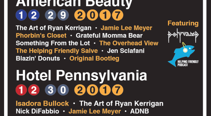 Lineups for New Year's 2017 PhanArt Shows Announced!