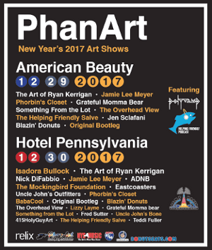 Two PhanArt Shows this December!
