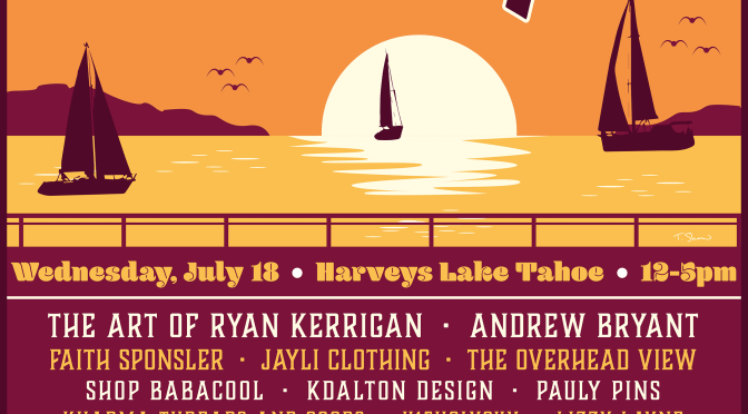 Announcing the Lineup and Exclusive art Available at the Lake Tahoe PhanArt Show!