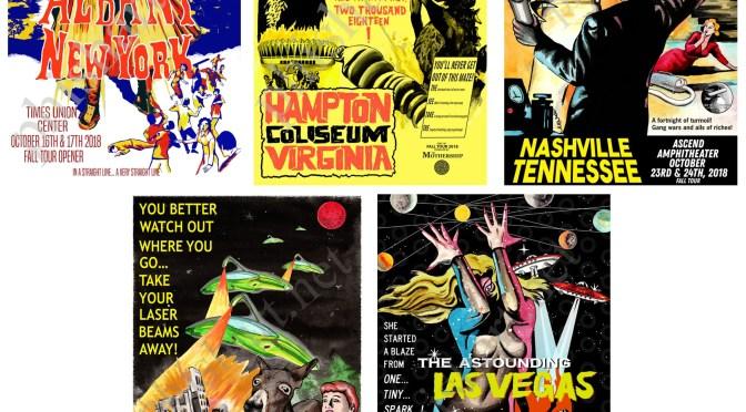 Josean Rivera Sci-Fi Horror Poster Fall Tour Series