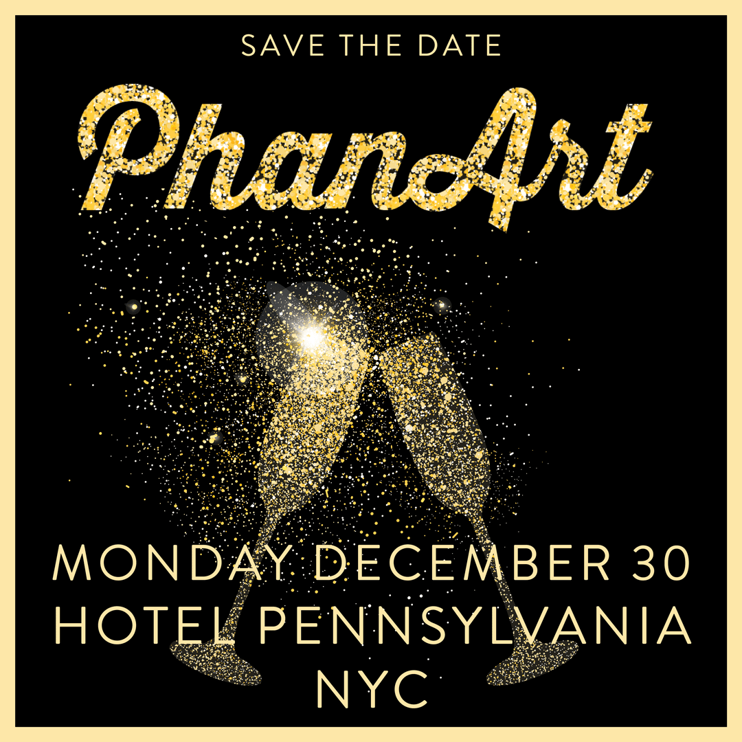 PhanArt in NYC, December 30th