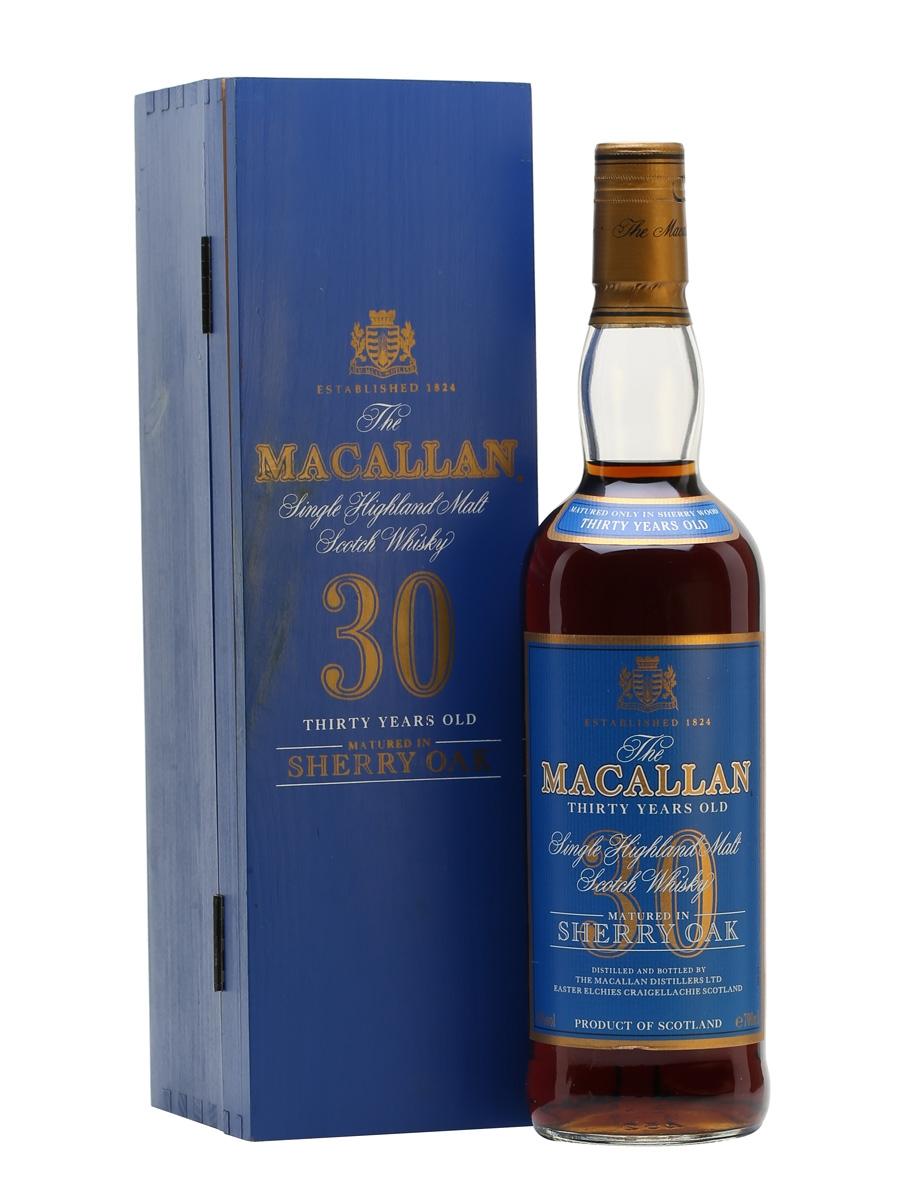 Rượu Macallan 30 Sherry Oak.Giá rượu Macallan 30.Mua rượu Macallan 30.Bán rượu Macallan 30