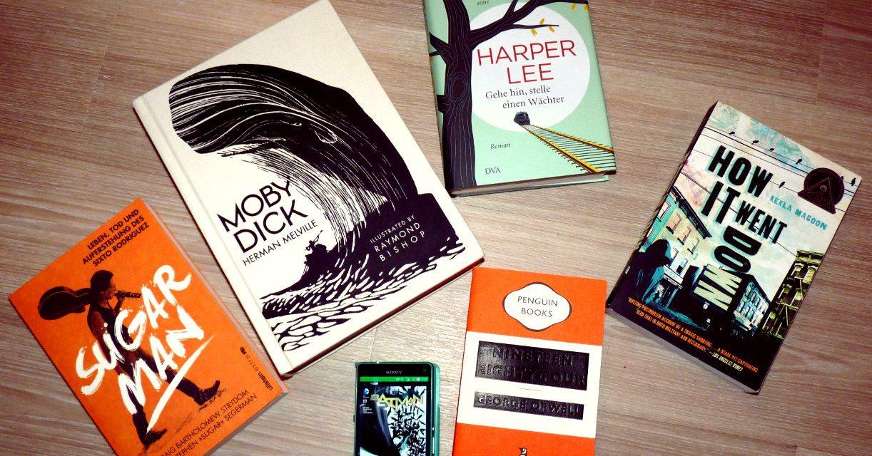 [Tag] 6 Buchvorsätze für 2016