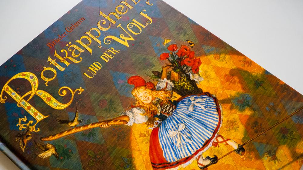 """[Märchen-Weihnacht] Brüder Grimm & Anton Lomaev: """"Rotkäppchen und der Wolf"""""""
