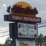 Mullers Diner Sign