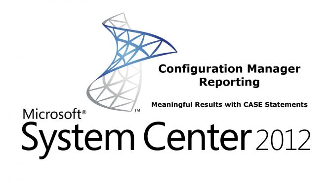 CM 2012 – Reporting