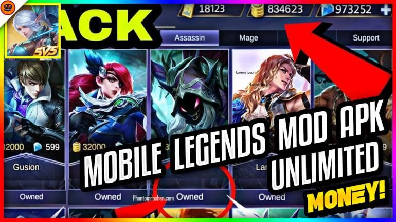 mobile legends mod apk 2019