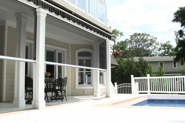 Motorized Retractable Screens For Porches And Patio Doors