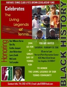 Black History Tennis