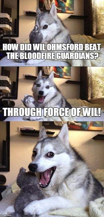 Shannara Force of Will Dog Meme