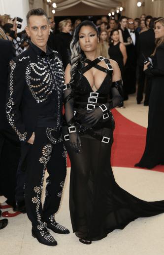 """Nicki Minaj, starring in """"Ms.Dominatrix Goes to the Met"""""""