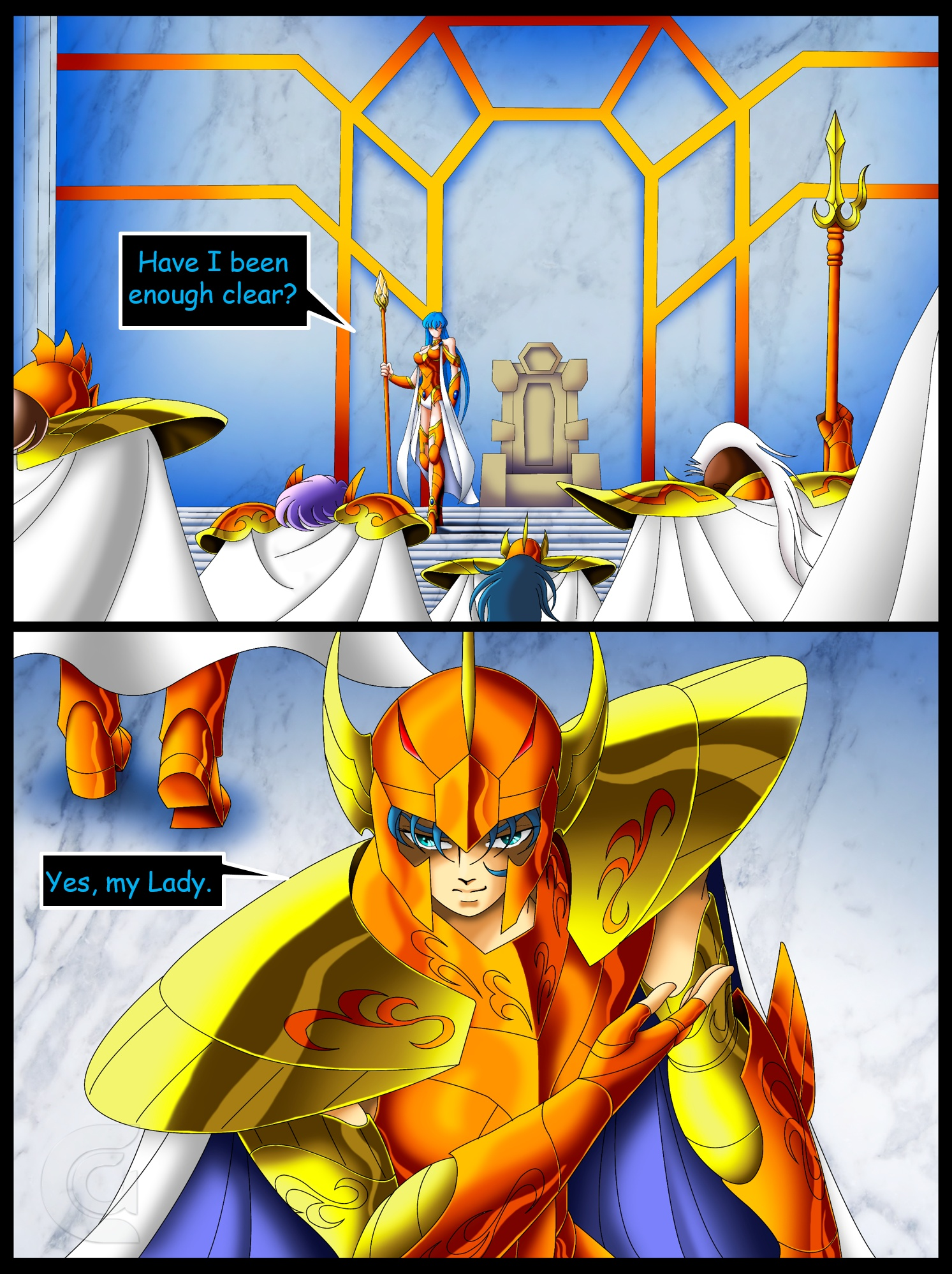 Saint Seiya Atlantis  Chapter 3  Division  Fancomics by