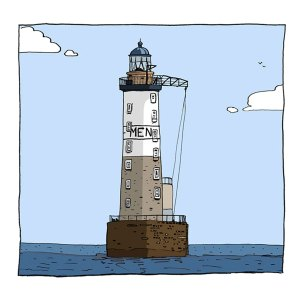 Phare d'Ar Men