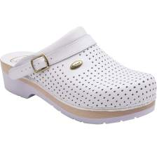 Dr Scholl Shoes Σαμπό Λευκό Επαγγελματικά Υπερ Αναπαυτικά Παπούτσια, Χαρίζουν Σωστή Στάση & Φυσικό Χωρίς Πόνο Βάδισμα 1 Ζευγάρι - 37