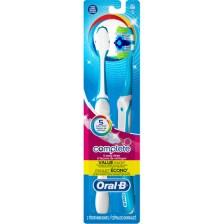 Oral-B Complete 5 Way Clean Οδοντόβουρτσα 40 Μέτρια 1+1 δώρο - Μπλε - Πράσινο