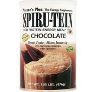 Nature's Plus Spiru-Tein Shake 1,05lb Chocolate Συμπλήρωμα Διατροφής Δίνει Ενέργεια και Ζωτικότητα, Καταπολεμά την Κούραση 476gr
