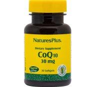 Nature's Plus Coenzyme Q10 30mg Συμπλήρωμα Διατροφής Κατάλληλο για Παραγωγή Ενέργειας & για Καρδιαγγειακές Παθήσεις 30softgels