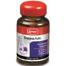 Lanes OsteoAde Ισχυρή Φόρμουλα για Γερά Οστά & για Καλή Υγεία των Δοντιών & των Μυών 30 tabs