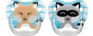 Dr Browns PreVent Ορθοδοντική Πιπίλα Σιλικόνης Με Σχέδια Animal 0-6 Μηνών 2 Τεμάχια PV12015