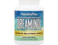 Nature's Plus Dreaminol 30 triphase tabs Συμπλήρωμα Διατροφής για τη Βελτίωση του Ύπνου 30 ταμπλέτες