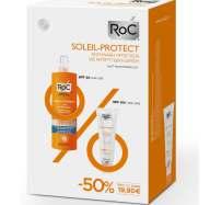 Roc Anti-Rides Cream Spf50+Αντηλιακή Κρέμα Προσώπου 50ml & Lotion Body Spray Spf30 Γαλάκτωμα200ml Promo -50%