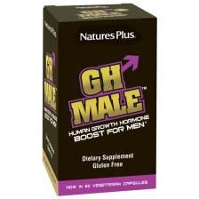 Natures Plus GH Male Boost for MenΣυμπλήρωμα Διατροφής για τη Φυσική ΔιέγερσητηςΕνδογενούςΑυξητικής Ορμόνης90 Veg Caps