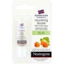 Neutrogena Nourishing Lipcare With Nordic Berry Stick Χειλιών Θρέψης για Ξηρά και Σκασμένα Χείλη 4.9gr
