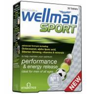 Vitabiotics Wellman Sport Ειδικά Σχεδιασμένη για Άνδρες που Αθλούνται 30Tabs