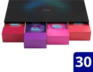Durex Love Collection Premium Ποικιλία με Επιλεγμένα Προφυλακτικά σε Premium Κασετίνα 30 Τεμάχια