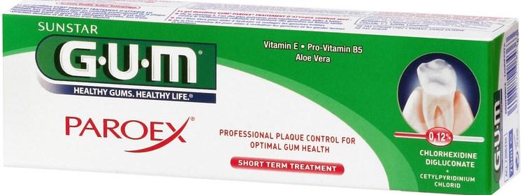 Gum 1790 Paroex Gel Intensive Action 0,12% CHX + 0,05% CPC Οδοντόκρεμα με Διπλή Αντι-Βακτηριακή Δράση & 0,12% Χλωρεξιδίνη 75ml